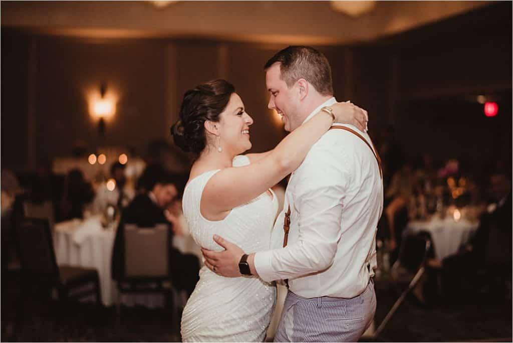 Bride Groom Dancing