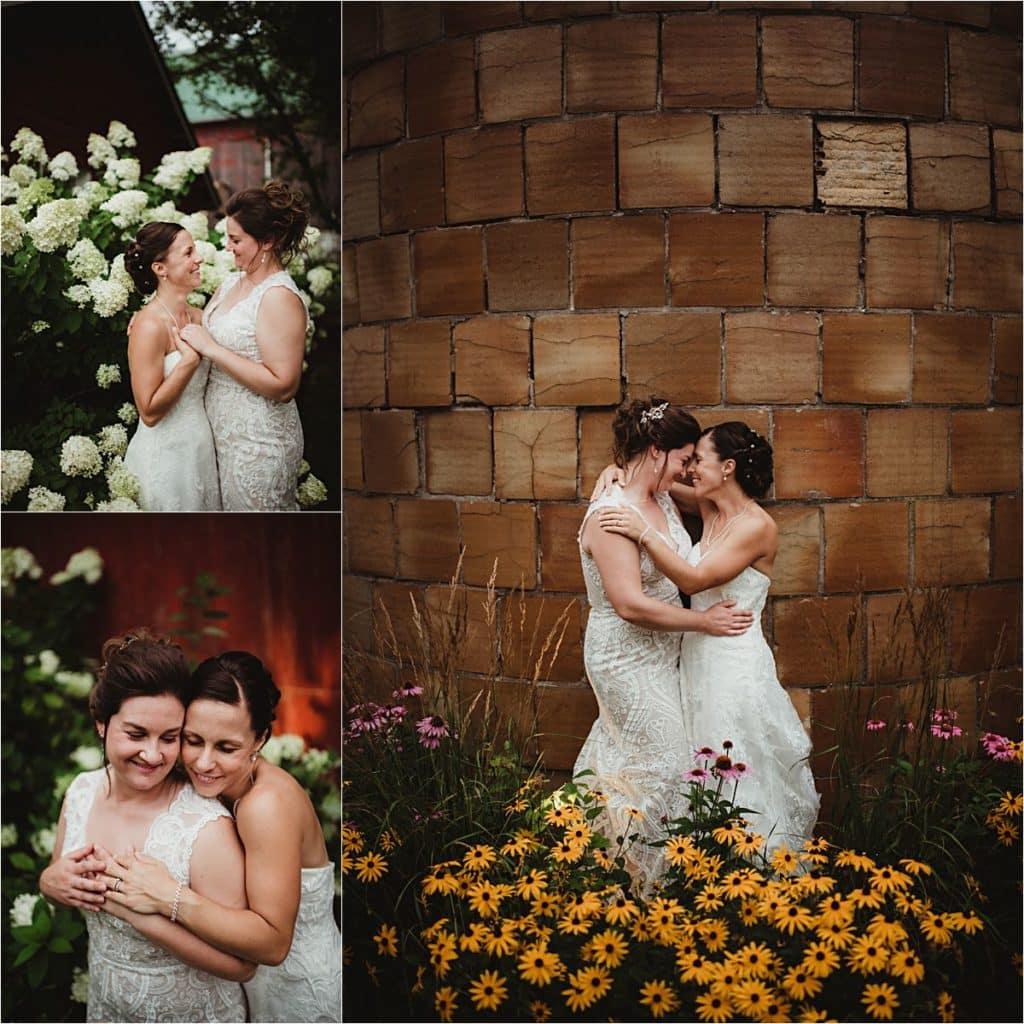 Collage Brides