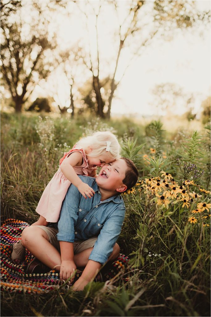 Playful Brother Sister Session