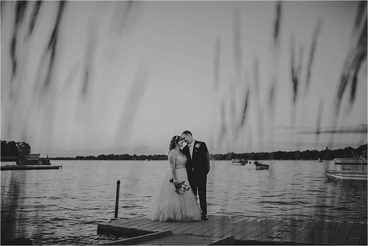 Black White Image Couple